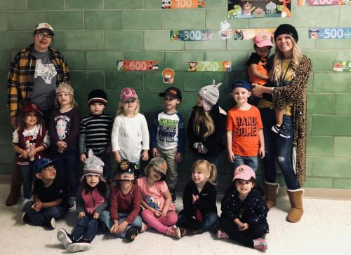 Hat day during red ribbon week!