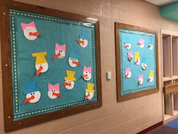 Snowman Bulletin Boards