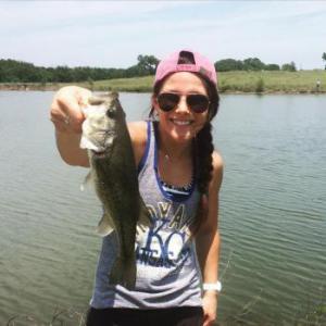 I love fishing!