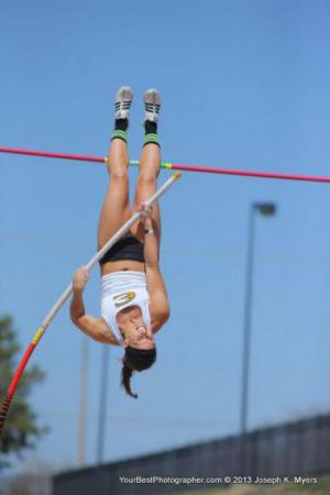 Pole vaulting is my passion!