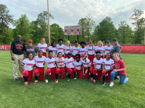 2021 Cards Softball Conference Champions