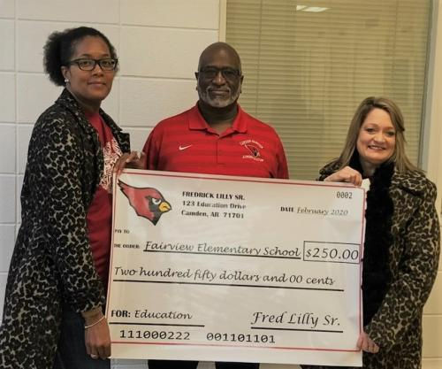 Supt Lilly Donation_FES