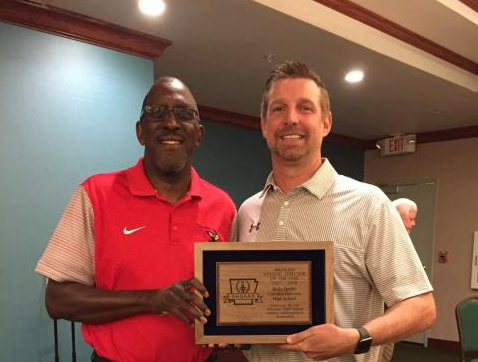 Ricky Tucker 2017 – 2018  5A Athletic Director of the year