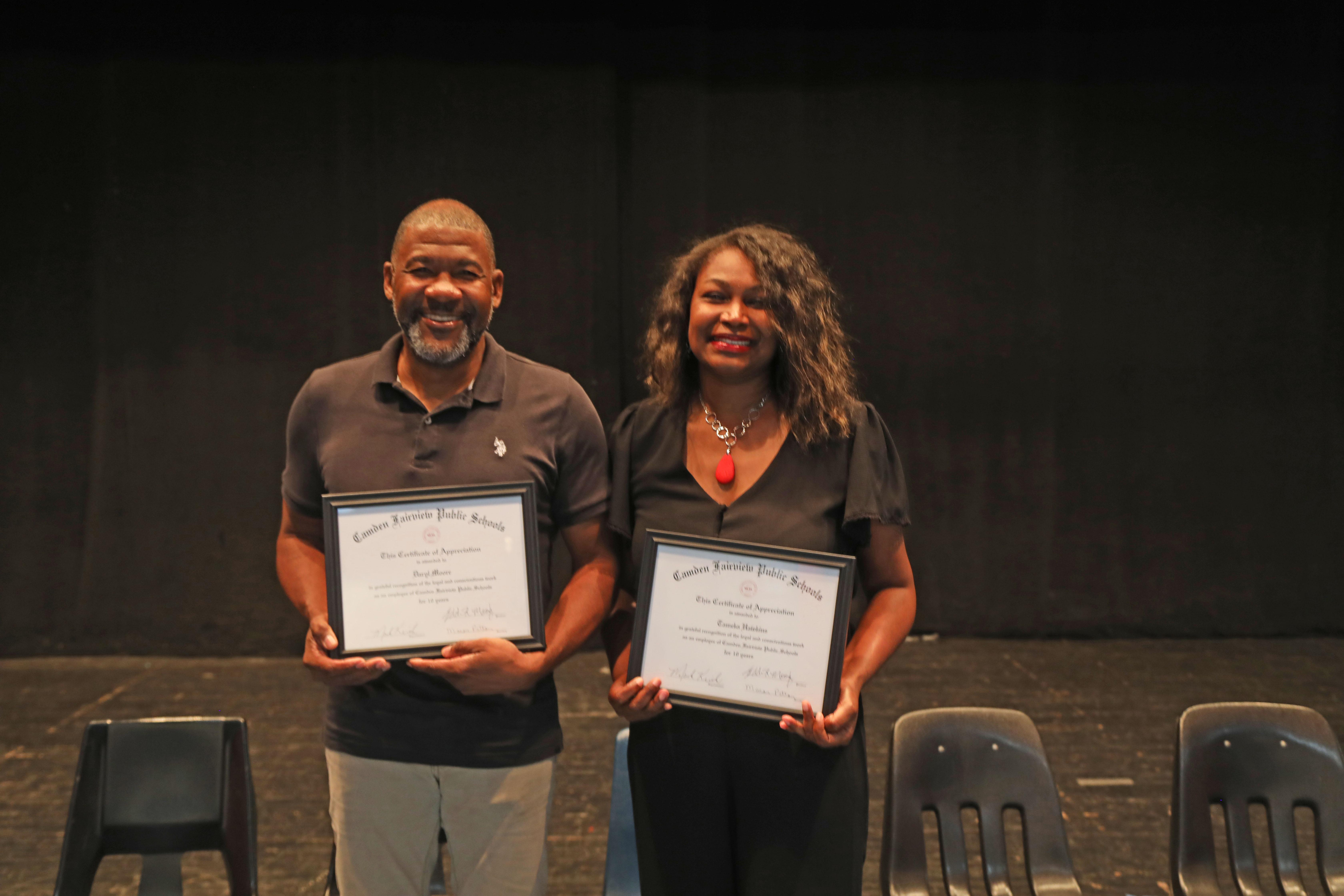 10 Year Classified: Daryl Moore,  Tameka Hawkins