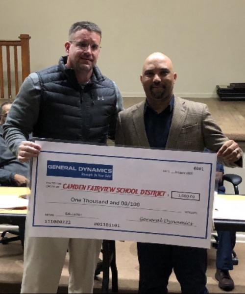 Mr. Steelman $1000 GD Donation