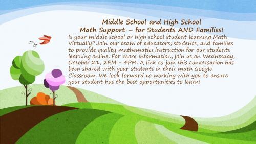 Math Support