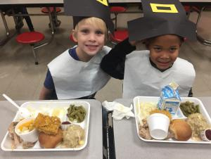 Cafeteria Feast Thursday, 11-16-17