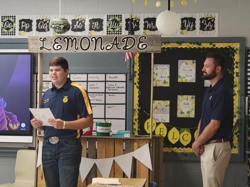 FFA Hosts Ag Day at School