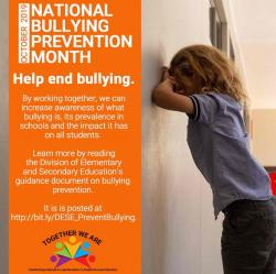 Help prevent bullying