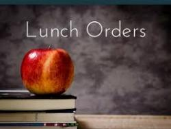 Meal Order and Distribution Information