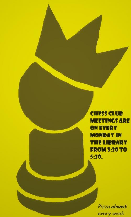 Chess Club Logo