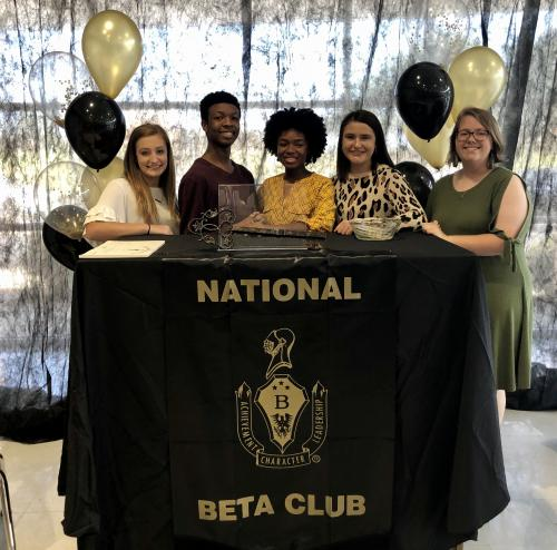 2019-29 Beta Club Officers