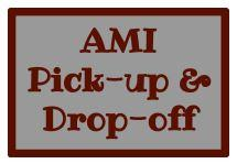 AMI pick-up & drop-off