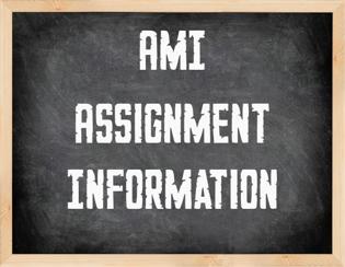 AMI Assignments