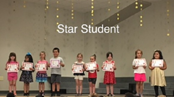 Kindergarten September Star Student