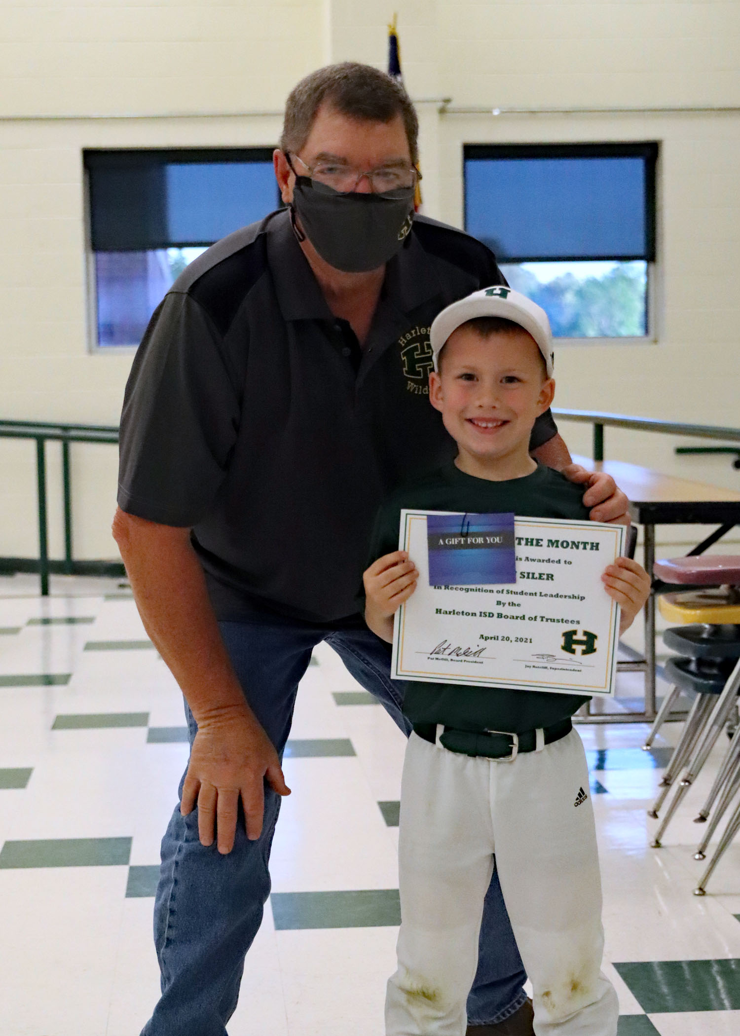 April Student of the Month Griffin Siler!