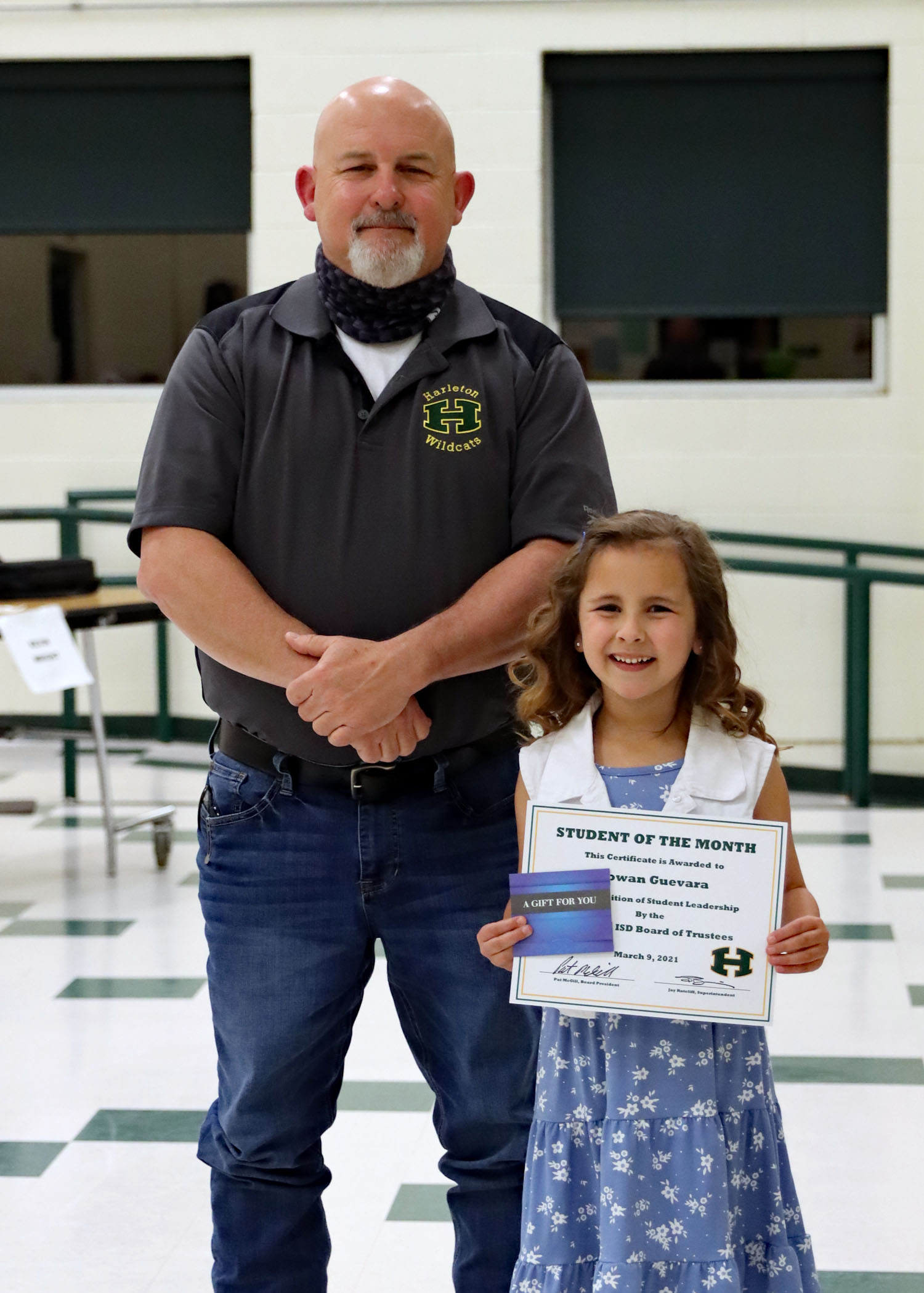 March Student of the Month Rowan Guevara!