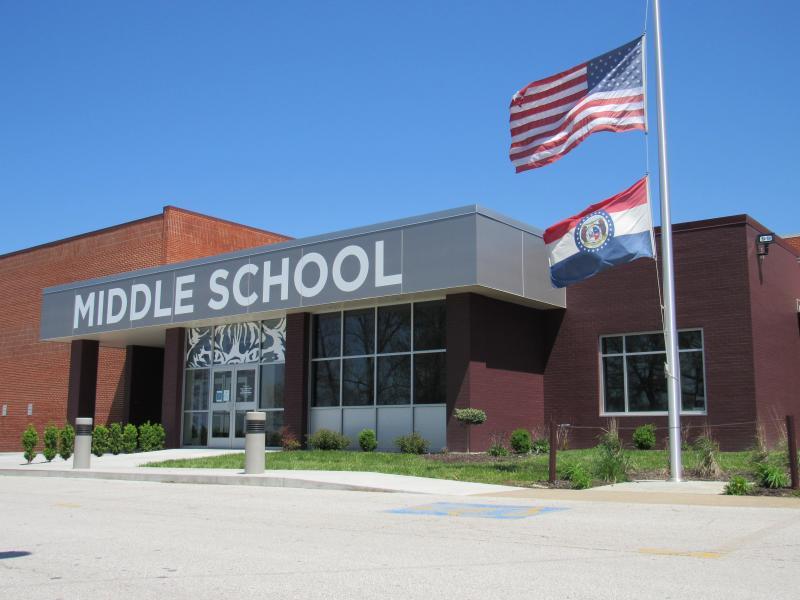 Landscape View facing Middle School
