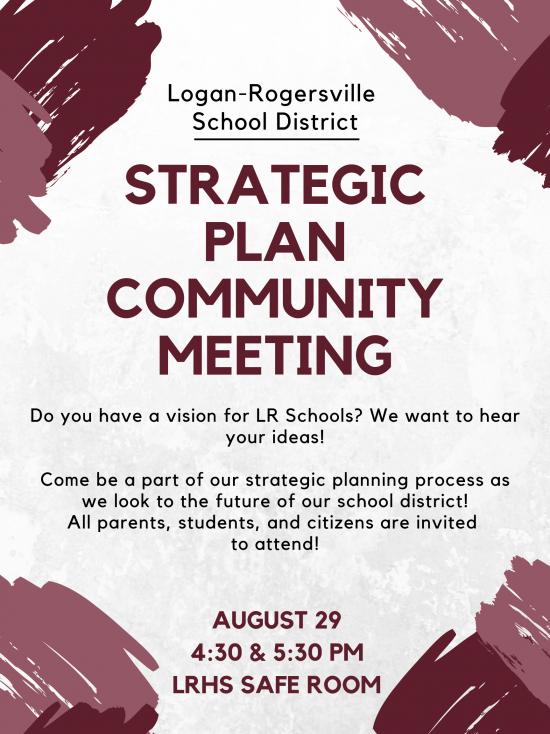 Strategic Planning meeting invitation