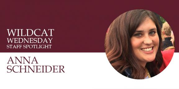 Anna Schneider Wildcat Wednesday banner