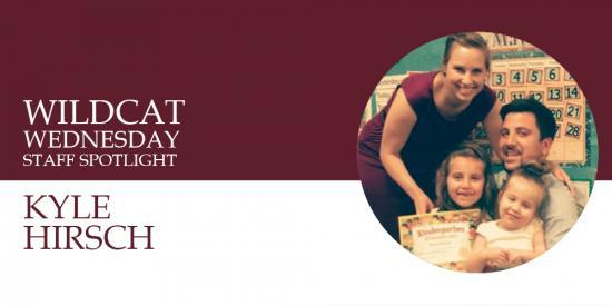 Kyle Hirsch Staff Spotlight Banner