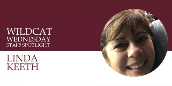 Linda Keeth Wildcat Wednesday banner