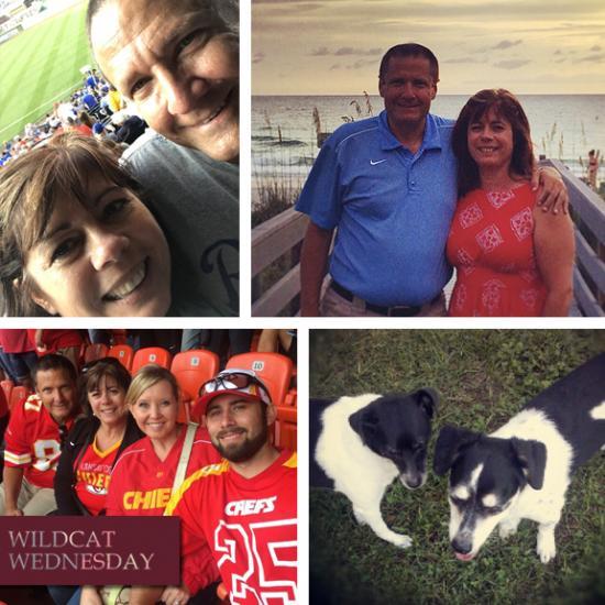 Linda Keeth Wildcat Wednesday collage