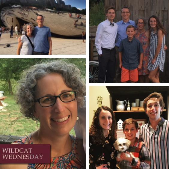 Amy McComas Wildcat Wednesday collage