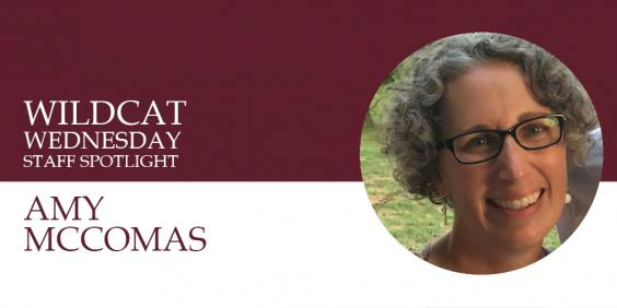Amy McComas Wildcat Wednesday banner