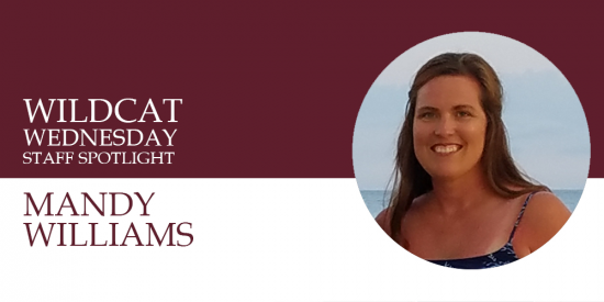 Mandy Williams staff spotlight banner