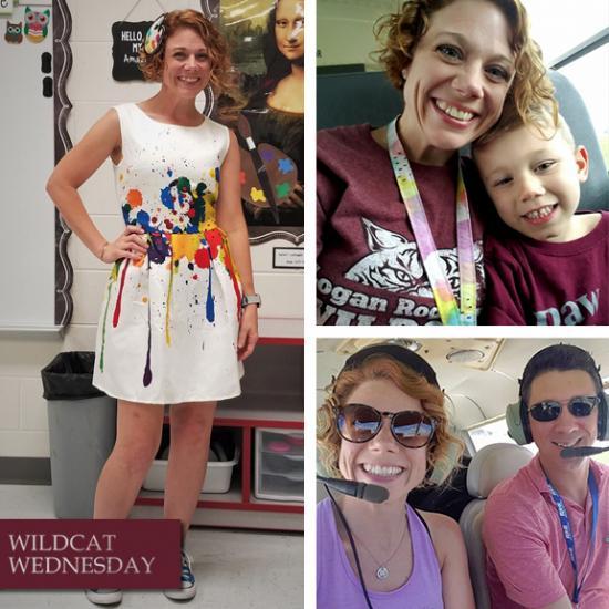 Jessica White Wildcat Wednesday photo collage
