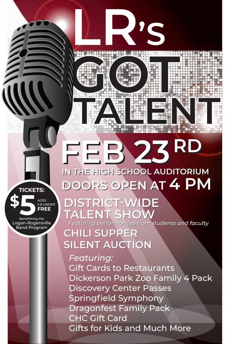 LR's Got Talent Poster