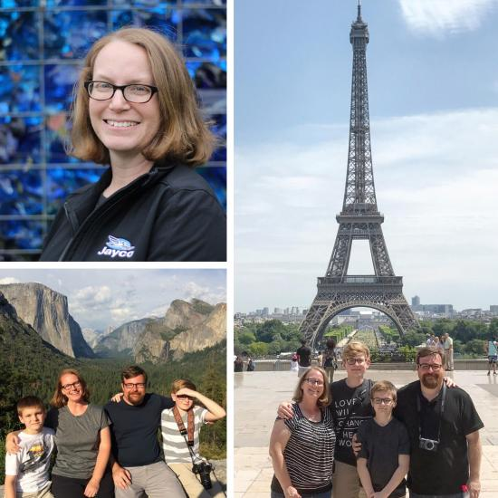 Kerri Cox Staff spotlight photo collage