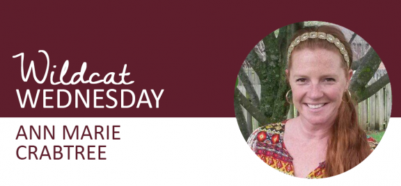 Ann Marie Crabtree Wildcat Wednesday banner