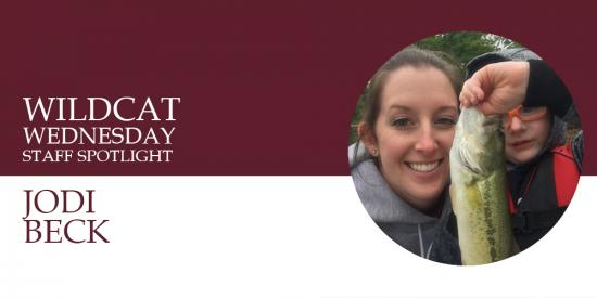 Wildcat Wednesday banner for Jodi Beck
