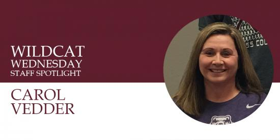 Carol Vedder Wildcat Wednesday banner