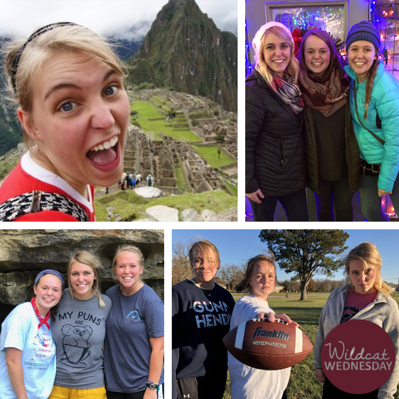 Kendall Klein Wildcat Wednesday photo collage
