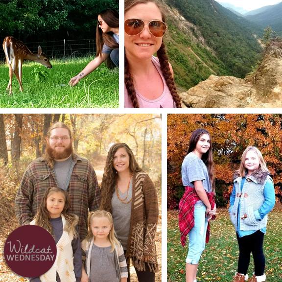 Ashley Collins Wildcat Wednesday photo collage