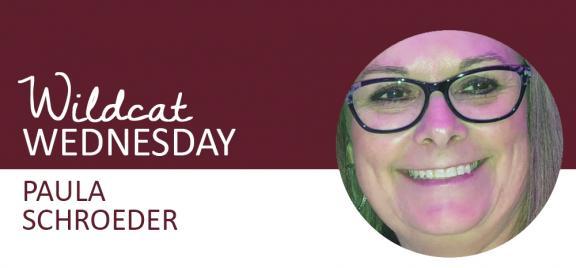 Paula Schroeder Wildcat Wednesday banner