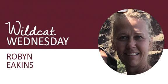 Robyn Eakins Wildcat Wednesday banner