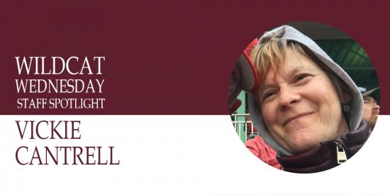 Vickie Cantrell staff spotlight