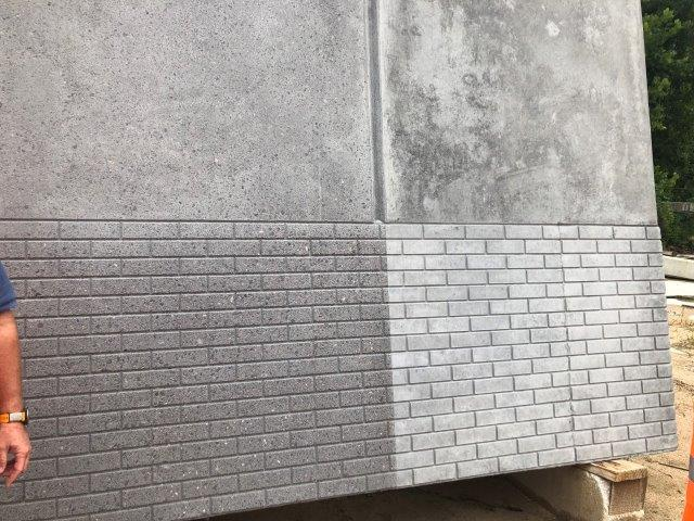 Wall Sample at Prestressed Casting Co.