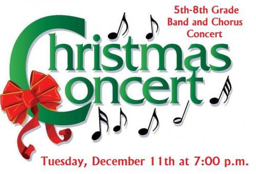 Band and Chorus Christmas Concert