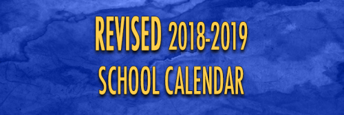 Calendar revised