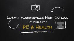 JANUARY was PE & HEALTH Month at LRHS