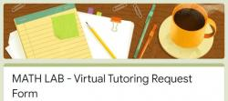 Virtual Math Lab is Now Open