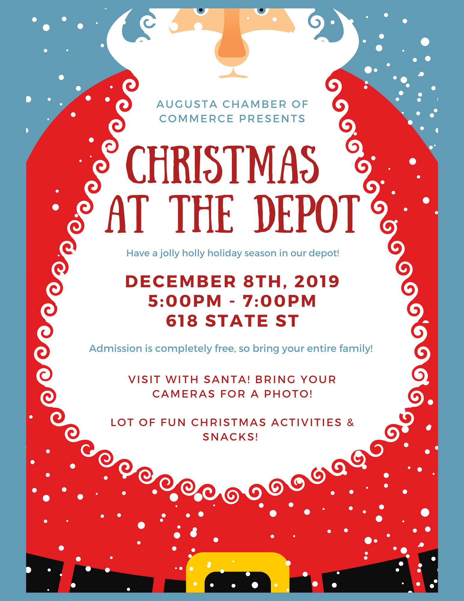 Christmas at the Depot - Dec 8 - The Depot