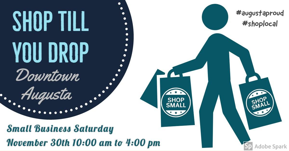 Small Business Saturday - Nov 30 - Downtown Augusta