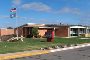 Robinson Elementary School Front Entrance