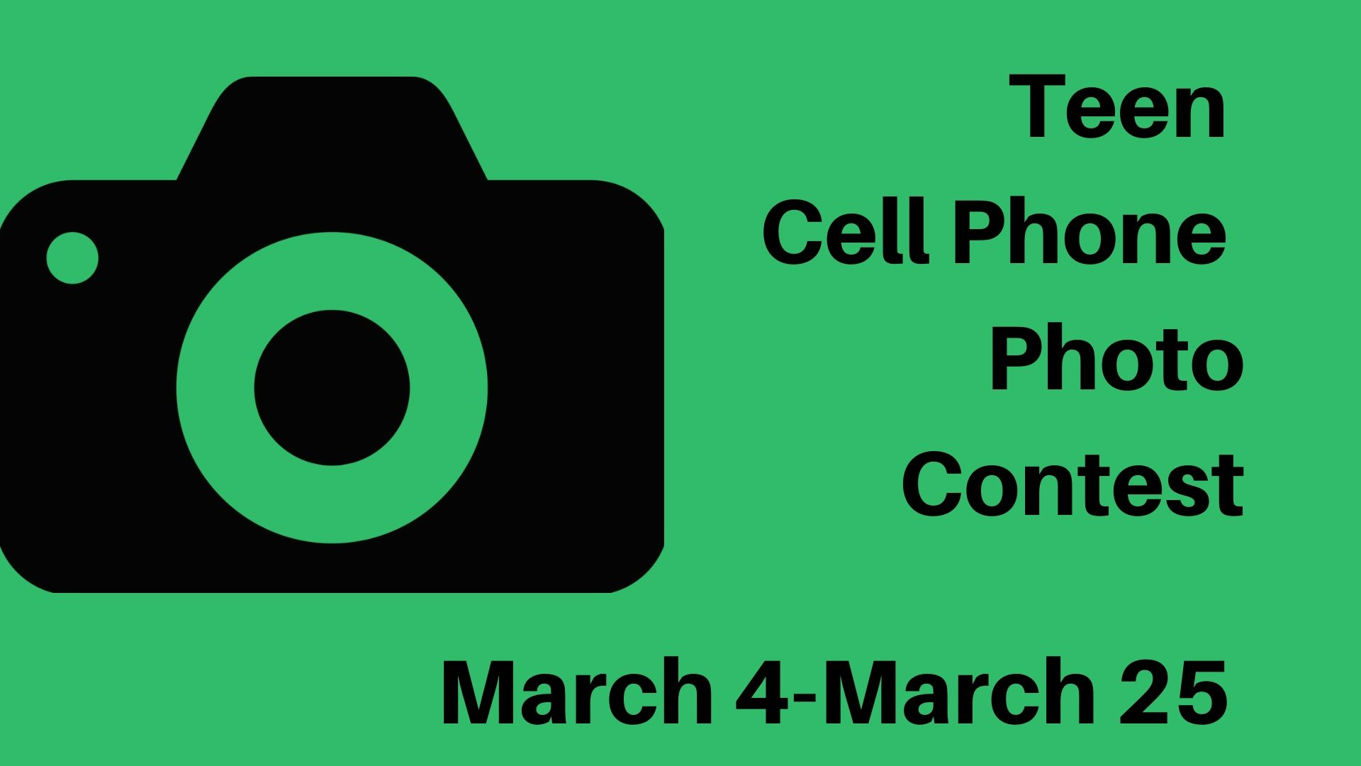 Teen Cell Phone Photo Contest  - Augusta Public Library